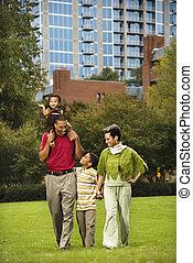 公園, 家族