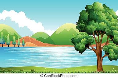 公園, 湖