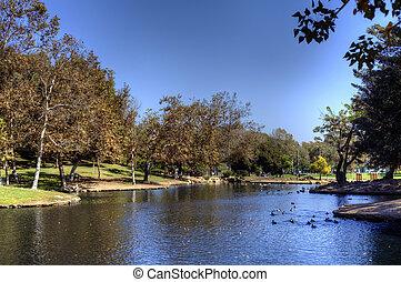 公園, 絵のよう