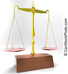 公正的規模