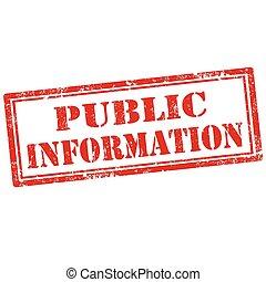 公眾, information-stamp