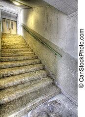 公衆, hong, 階段, ハウジング, kong