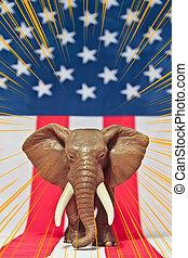 共和党員, 象