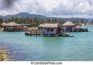 共和国, ドミニカ人, こはく色, 入り江