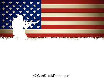 兵士, アメリカ人