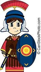 兵士, ローマ人, centurion