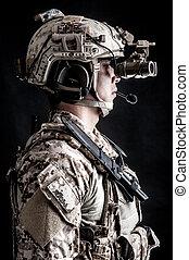 兵士, 人, 軍の帽子, ファッション