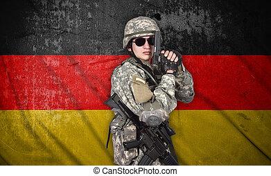 兵士, 保有物, 銃
