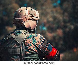 兵士, 武器, ユニフォーム