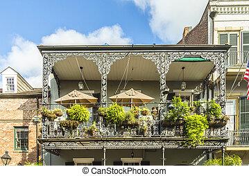 具有历史意义的建筑物, 在中, the, french四分之一