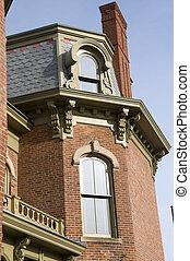 具有历史意义, 房子, 在中, 州, 俄亥俄