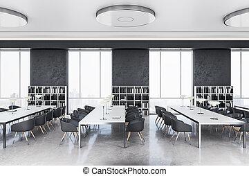 内部观点, 边, 图书馆, 现代