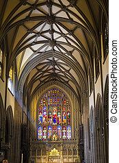 内部, の, 三位一体, 大聖堂, マンハッタン, ニューヨーク市