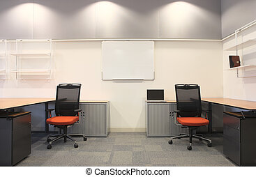 内部, の, a, 新しい, オフィス
