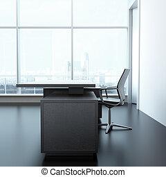 内部, オフィス机