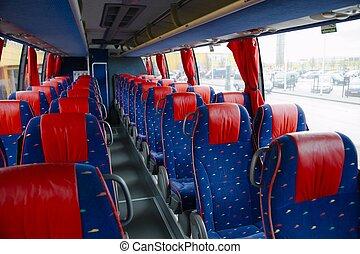 内部, バス