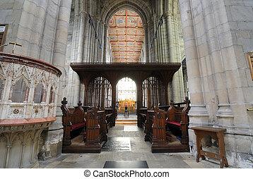 内部, メアリーの, st. 。, 大聖堂