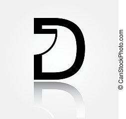 内部, ロゴ, design-, d