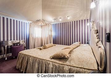 内部, 在中, 寝室, 在中, 过分雕琢和怪诞的风格