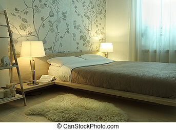 内部, 寝室