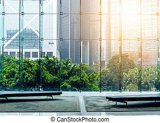 内部, 建物, 現代