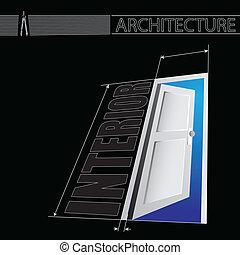 内部, 建築