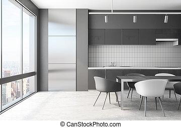 内部, 日光, 現代, 台所