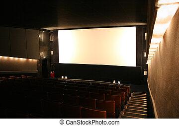 内部, 映画館