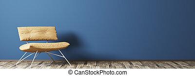 内部, 肘掛け椅子