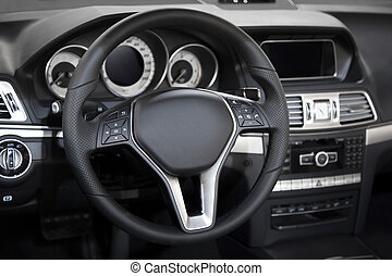 内部, 自動車