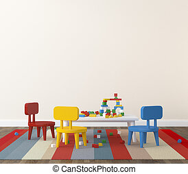 内部, 遊戯場,  kidsroom