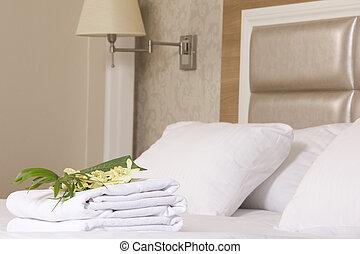 内部, 部屋, ホテル