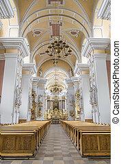 内部, franciscans, 教会