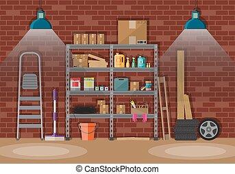 内部, storeroom