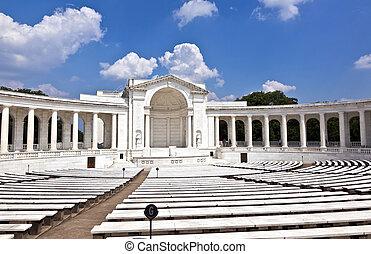 円形劇場, 墓地, アーリントン, 国民 記念
