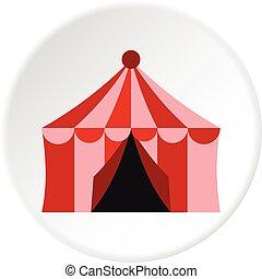 円, サーカスのテント, アイコン