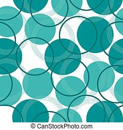 円, パターン, seamless