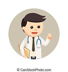円, 文書, 背景, 保有物, 医者