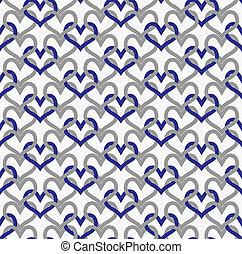 円, 灰色, 生地, 青い背景, textured, 織り交ぜられる