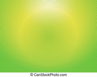 円, 緑の背景, 半