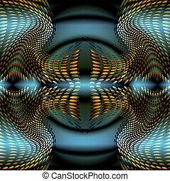 円, 背景を彩色しなさい, 抽象的