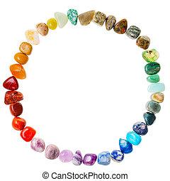 円, 自然, 鉱物, 宝石用原石, 隔離された
