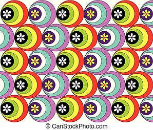 円, 色, 壁紙, flowers.