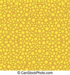 円, 黄色の背景, buble