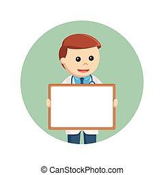 円, whiteboard, 背景, 保有物, 医者
