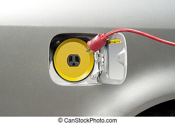 再充電, 自動車, 電気である