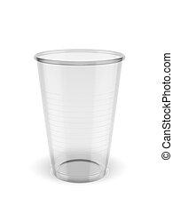 再生利用できる, プラスチックのカップ