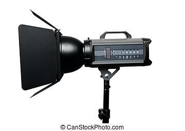 写真の スタジオ, フラッシュ, 照明装置