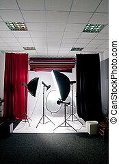 写真の スタジオ