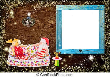 写真フレーム, クリスマスカード